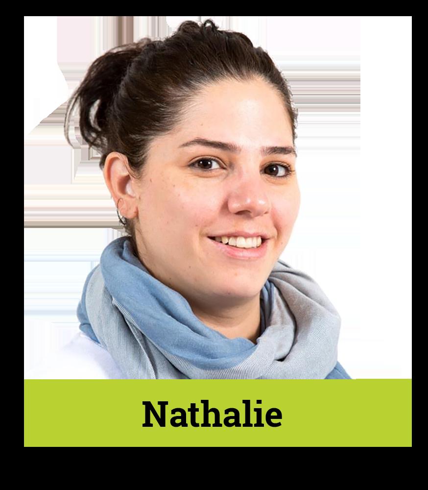 Nathalie transparent - flipped aston