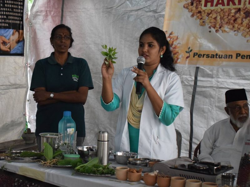 CAP - Dr Janani sharing tips on home remedies - cropped